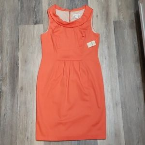 "Coldwater Creek ""Shift Into Coral"" Dress"
